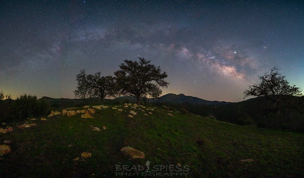 Back Country Milky Way