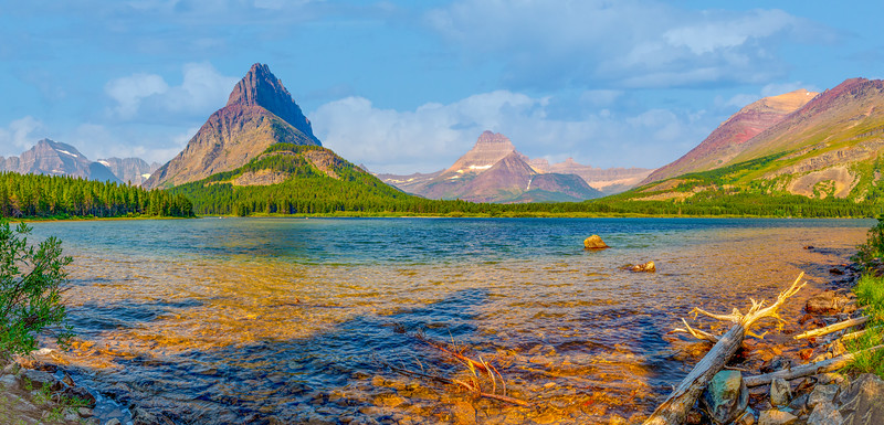 Swiftcurrent Lake and Mount Grinnell