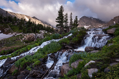 Daybreak in the Indian Peaks Wilderness