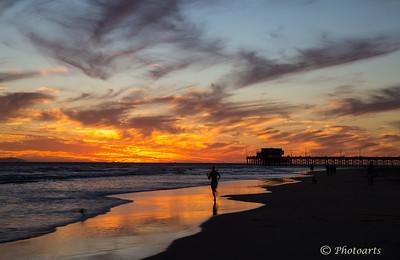 """""""Sunset Run"""""""