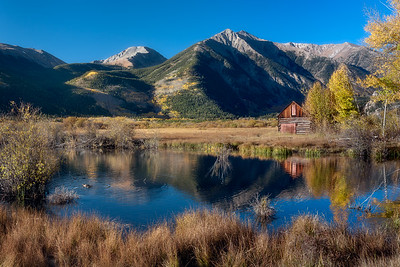 Twin Lakes Fall Morning