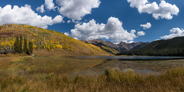 Fall at Piney Lake in Vail