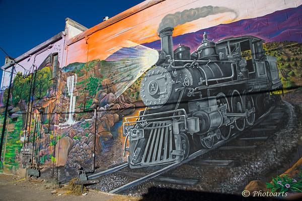 Americana 2: Alamogordo Iron Horse Mural
