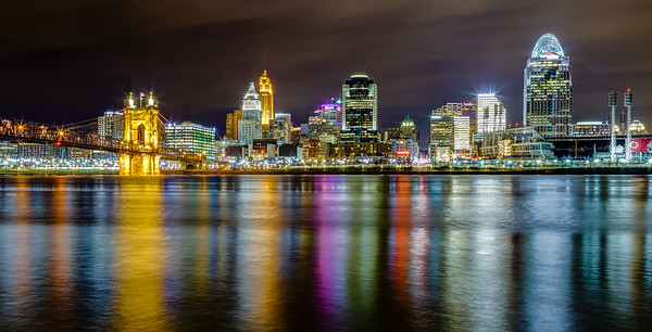 The Queen City at Night