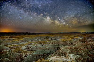 Night Falls on the Badlands