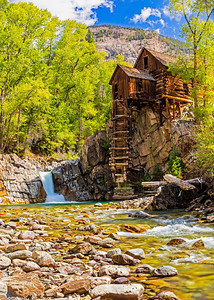 Riverside at the Crystal Mill