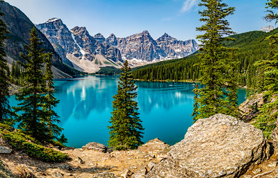 A Summer Day in the Canadian Rockies
