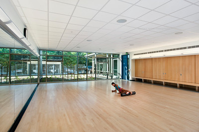 Menlo School Gym, Atherton, CA.Kevin Hart Architecture, Vance Brown Builders. Dance Studio.
