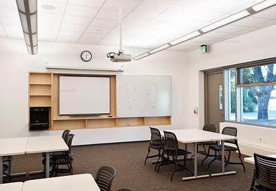 Menlo School Gym, Atherton, CA.Kevin Hart Architecture, Vance Brown Builders. Classroom.