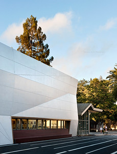 Menlo School Gym, Atherton, CA.Kevin Hart Architecture, Vance Brown Builders. Exterior Wall