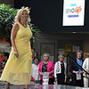 LaDean Kirby walks the runway during the Senior Life Network's Senior Spring Fling Fashion Show Thursday March 30, 2017 at Oakwood Mall. (Billy Hefton / Enid News & Eagle)