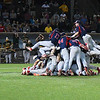 Kankakee CC players celebrate after defeating Mercer CC to win the 2017 NJCAA DII World Series Friday June 2, 2017 at David Allen Memorial Ballpark. (Billy Hefton / Enid News & Eagle)