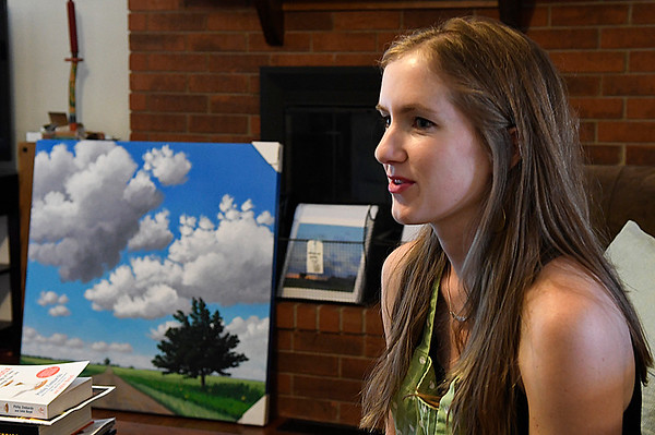 Catherine Freshley during an interview May 25, 2017. (Billy Hefton / Enid News & Eagle)