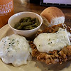 Chicken fried steak at Lucille's in Muhall. The restaurant reopened June 2 after being closed for over a year. (Billy Hefton / Enid News & Eagle)
