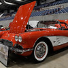 A 1961 Corvette Coup owned by David Eck at the Enid Corvette Expo Saturday April 1, 2017 at the Chisholm Trail Expo Center. (Billy Hefton / Enid News & Eagle)