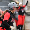 NOC Enid's Tori Danielson circles the bases after hitting a home run against Murray State Tuesday April 4, 2017 at Failing Field. (Billy Hefton / Enid News & Eagle)