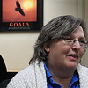 Pamela Gove, Education Services Specialist at the Vance Air Force Base Education Office, during an interview Friday February 17, 2017. (Billy Hefton / Enid News & Eagle)