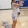 McKenzie Franklin of Waukomis shoots a three point shot against Pioneer Friday January 27, 2017 at Waukomis High School. (Billy Hefton / Enid News & Eagle)