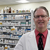 Rick Hill of Rick's Pharmacy Friday January 20, 2017. (Billy Hefton / Enid News & Eagle)