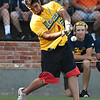 Mercer County's Sid Kumar takes part in the homerun derby during the opening ceremonies of NJCAA World Series Friday May 26, 2017 at David Allem Memorial Ballpark. (Billy Hefton / Enid News & Eagle)