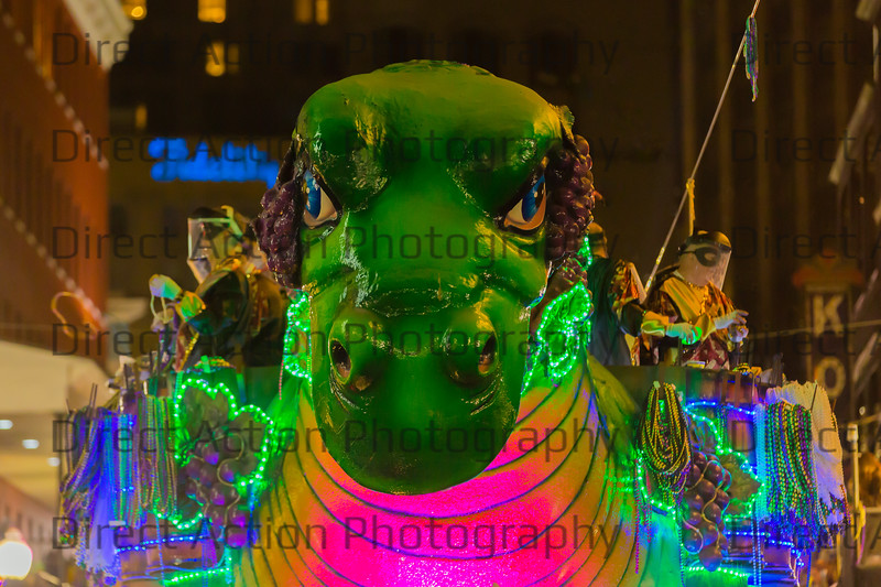 Bacchasaurus from the Krewe of Bacchus