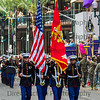 U.S. Marine Corps Color Guard