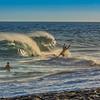 Finally a wave !