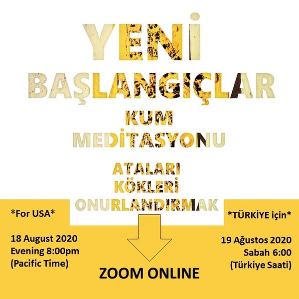 Sand Meditation August 2020