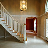 Custom staircase in grand entry