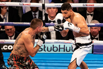 8th Sept 2018, Amir Khan vs Samuel Vargas Fight Night, Birmingham Arena