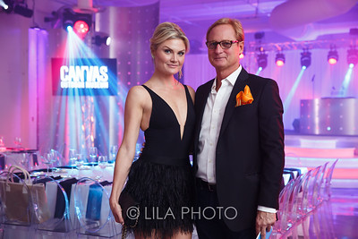Lizzi Bickford with her father Christopher Bickford © LILA PHOTO