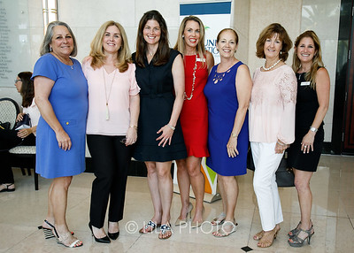 Karen Rogers, Lisa McDermott, Kirsten Stanley, Lauren LeBas, JoAnne Greiser, Deborah Dowd, Julie Peyton Stein