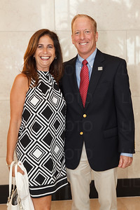 Beth Wagmeister, Tim Coffield with the YMCA of the Palm Beaches