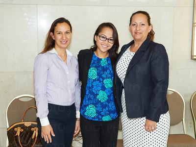 Johana Molina-Parks, Alyssa Vo, Michelli Rios Allen