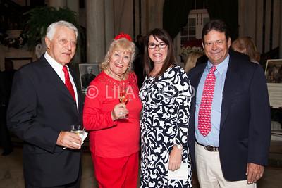 Mark Hadan, Countess Rudilia Poli - Sandri Burck, Betsy & George Matthews Jr.