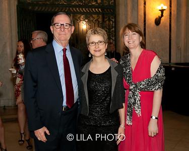 Bill Bodine, Tracy Kamerer, Sarah Hall