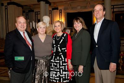 Dan Gallagher, Eileen Gallagher, Susan Flynn, Kathryn & Charles Flynn