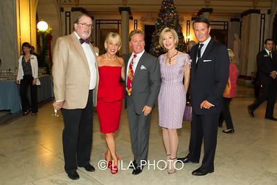 Chris & Vicki Kellogg, Jerrold St. George, Anka Palitz, George Palladino