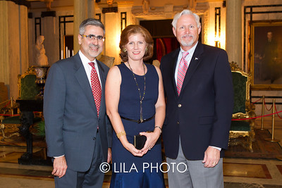 Mr. & Mrs. Jorge Pesquera, John Blades