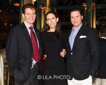 Rob Hanke, Christina & Ben Macfarland