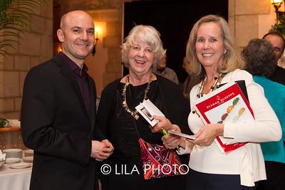 Simon Blendis, Josephine Wurster (middle), Catherine Plankey