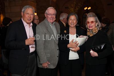Tom Burns, Pei & Kitty Chia, Carla Darlington