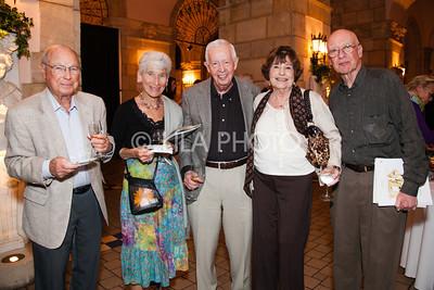 Al & Joan Rosenberg, David & Sonia Berke, Philip Levy