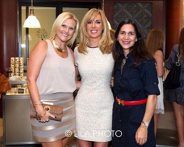 Courtney Bowden, Beth Anderson, Dr. Talya Shwarzberg