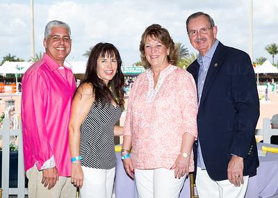 Val & Denise Perez, Dorothy & Ric Bradshaw
