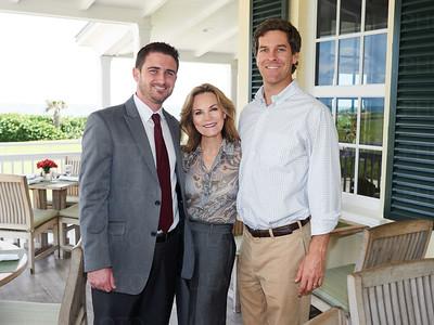 Justin Claud, Suzanne Holmes, Ryan Bridger