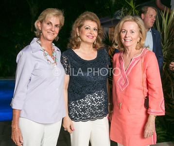 Nellie Benoit, Cherie Toufanian, Carol McCracken