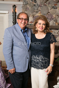 Dr. Ahmad and Cherie Toufanian