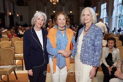 Ellen Wright, Laurie Warren, Dr. Peggy Crow