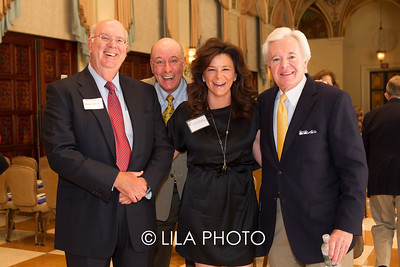 William Caler, John Myers, Catherine Bissinger, Bob Devlin